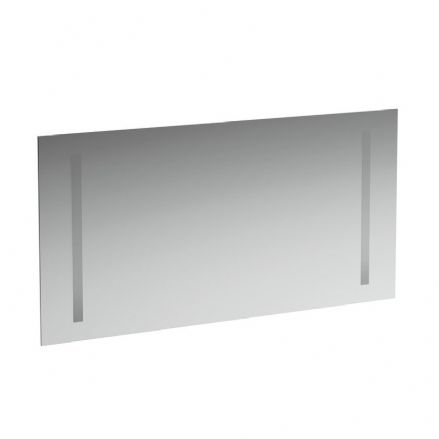 447266 - Laufen Case 1200mm x 620mm Mirror with Vertical Lighting & Sensor Switch - 4.4726.6